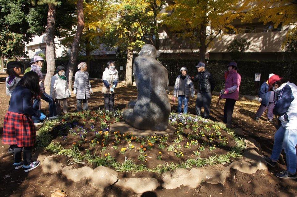 花植えイベント2日間~福岡中央公園~_a0107574_19333040.jpg