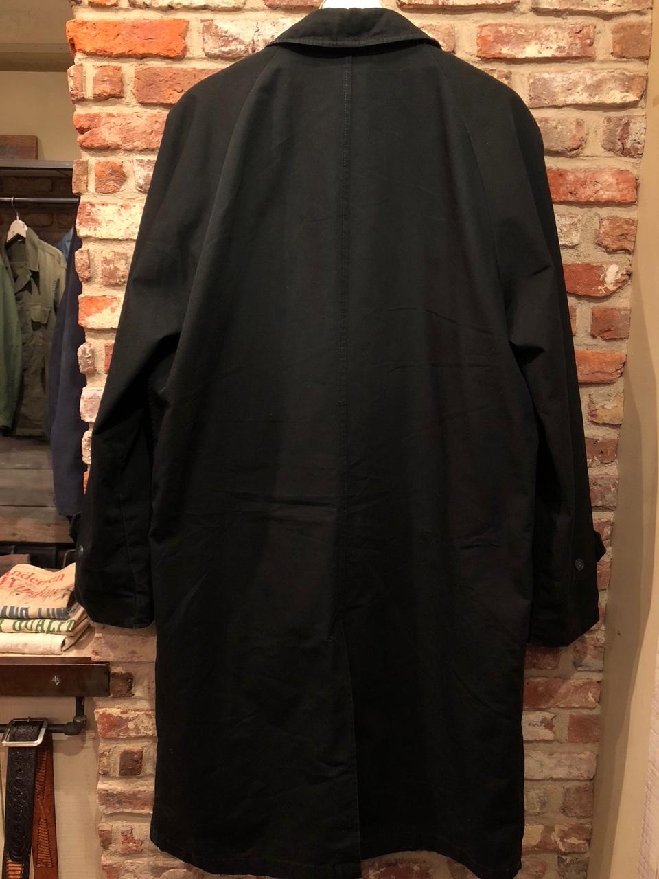"1960-70s \"" UNKNOWN \"" - BLACK POPLIN - ボアライナー付 vintage SOUTIEN COLLAR COAT ._d0172088_22512707.jpg"