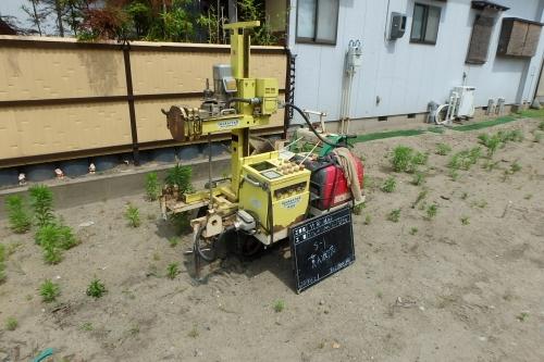 新潟市江南区 地盤調査 地盤改良 鋼管杭_c0091593_13340395.jpg
