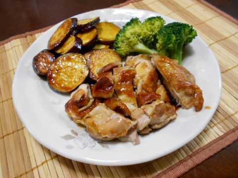 鶏もも肉の照り焼き_f0019498_12105646.jpg