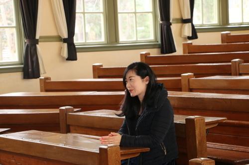 中澤 未美子 学術研究院 准教授が重文本館をご見学_c0075701_11210335.jpg