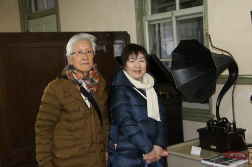 船橋市の大澤忠ご夫妻が重文本館をご見学_c0075701_21250179.jpg