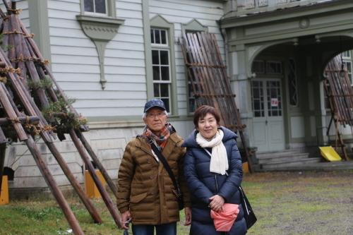 船橋市の大澤忠ご夫妻が重文本館をご見学_c0075701_21254532.jpg