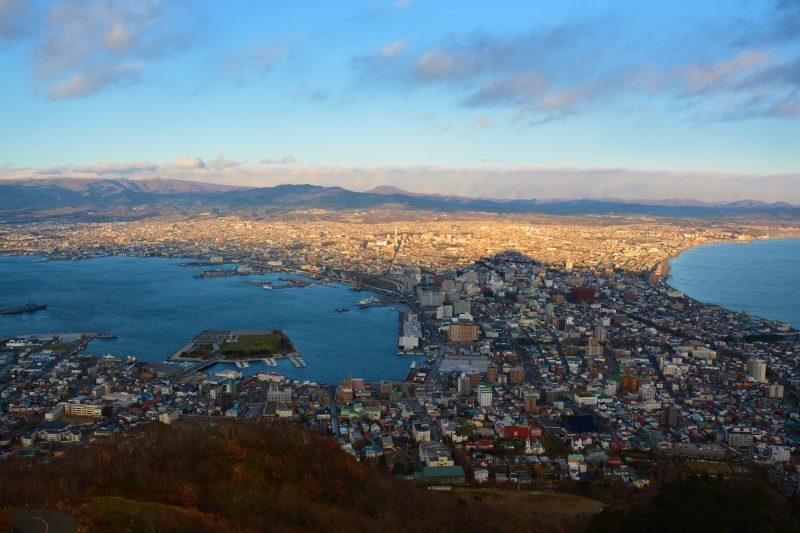 新幹線で北海道へ(2)函館の夜景_a0148206_19455040.jpg