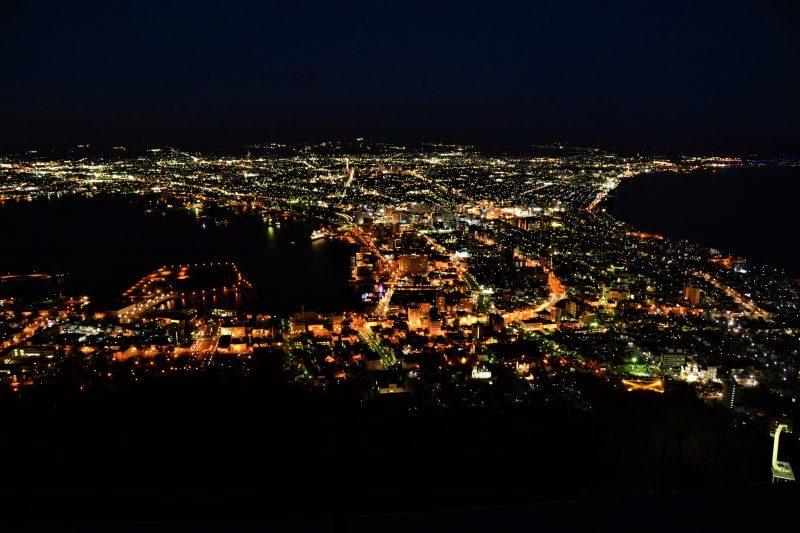 新幹線で北海道へ(2)函館の夜景_a0148206_19573727.jpg
