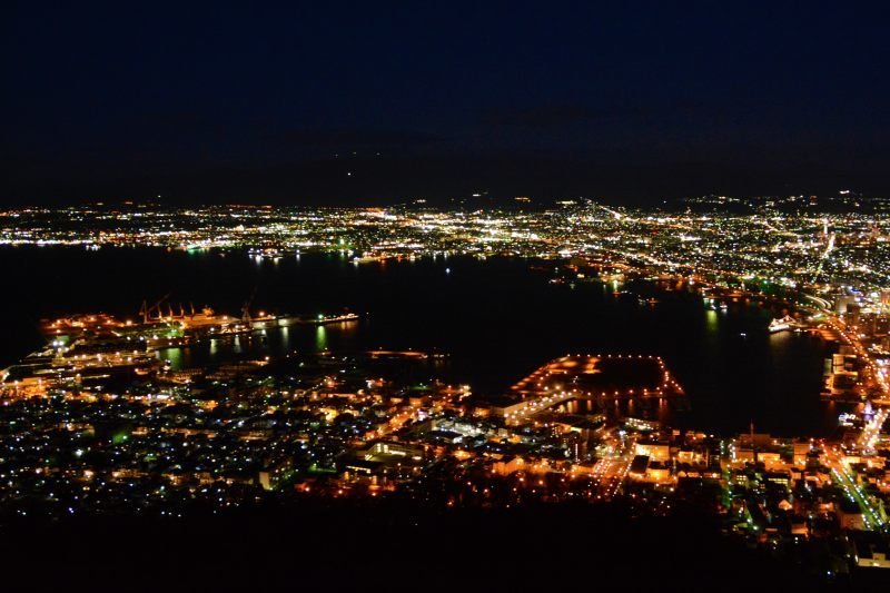 新幹線で北海道へ(2)函館の夜景_a0148206_19595860.jpg