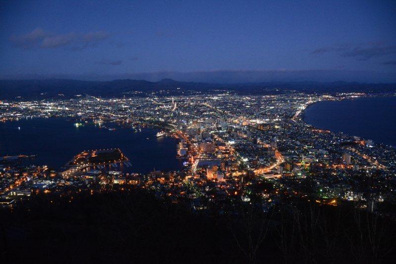 新幹線で北海道へ(2)函館の夜景_a0148206_20025403.jpg