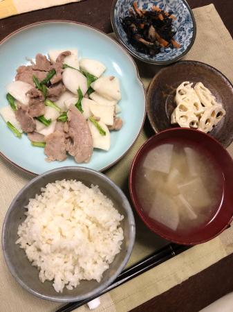かぶと豚肉の炒め物_d0235108_20201466.jpg