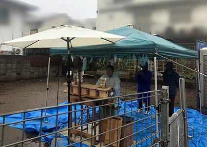 嵐の中の地鎮祭_a0148909_18110581.jpeg