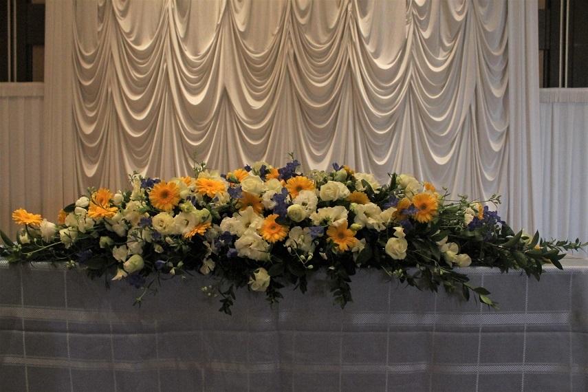 結婚式披露宴装花_d0227610_09191527.jpg