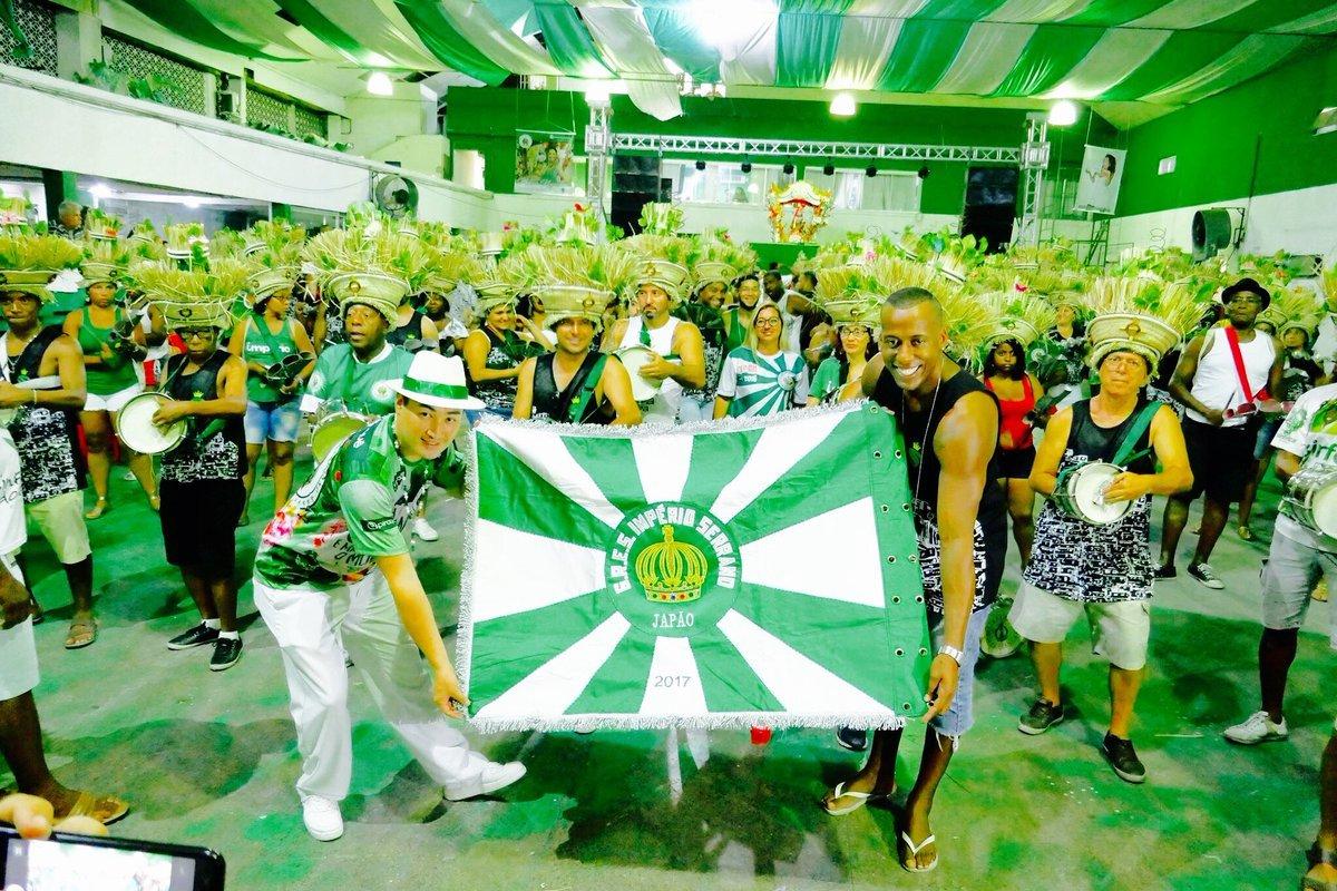 #ブラジル #リオのカーニバル に限らないミュージシャンの殿堂♬名門IMPÉRIO SERRANOの公式インスタで紹介されました #samba →_b0032617_09122040.jpg