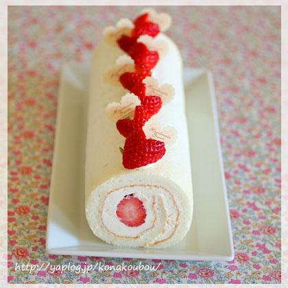 2月のお菓子・ホワイトストロベリー_a0392423_00275749.jpg