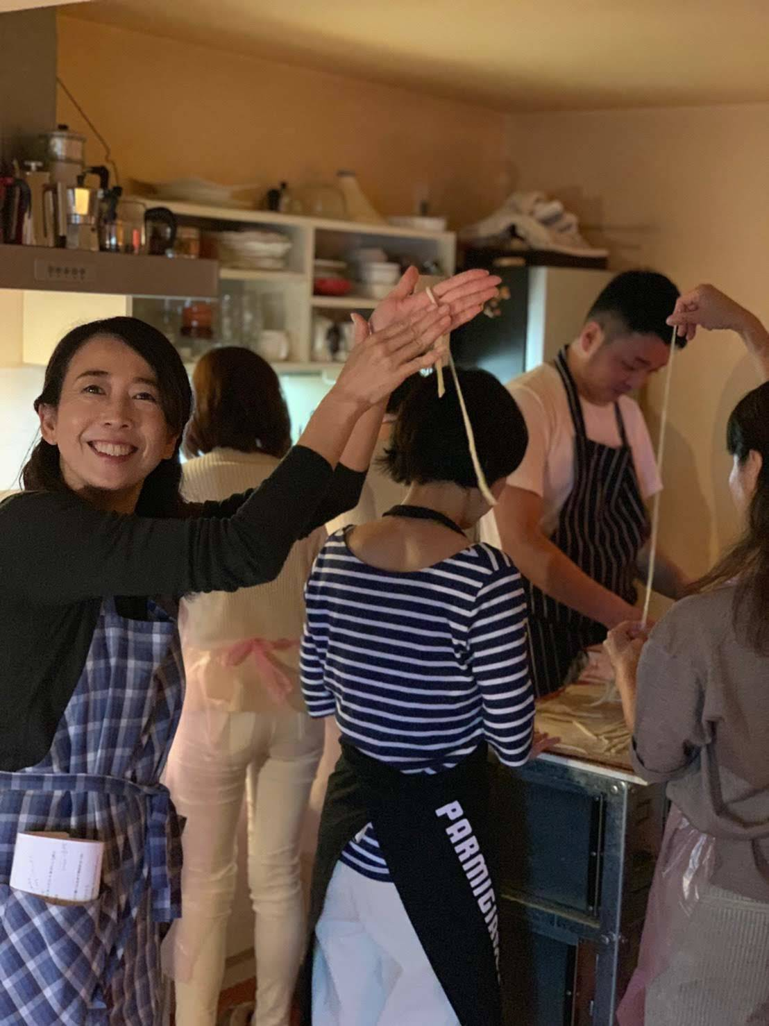 イタリアンのシェフによる、レアな手打ちパスタと肉料理レッスン開催しました_b0345136_23271737.jpg