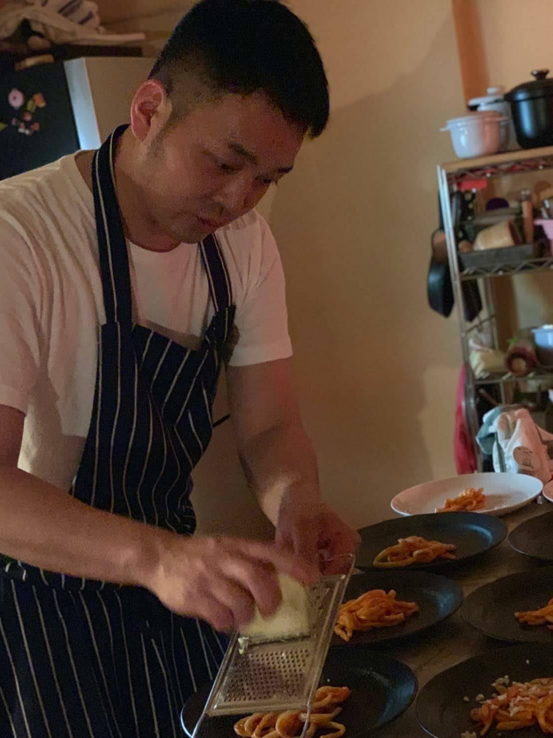 イタリアンのシェフによる、レアな手打ちパスタと肉料理レッスン開催しました_b0345136_23482200.jpg
