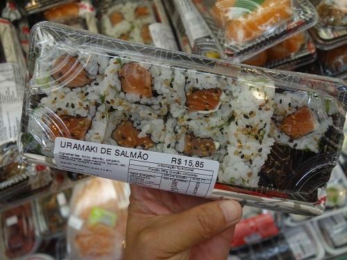 サンパウロ日本人街でSUSHI SIMPLESⅠを食べた_c0030645_05252072.jpg