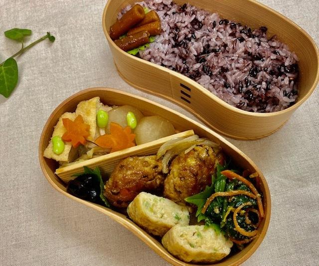lunch box ×5   会津旅のお土産を詰めて_a0165160_16073207.jpg