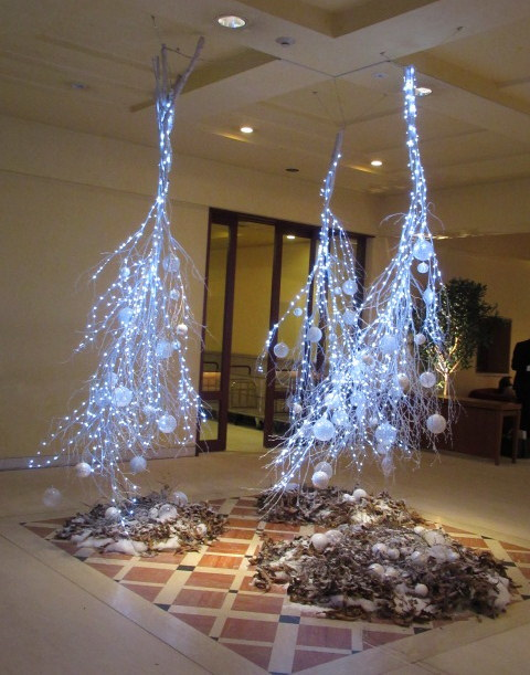 ①星降る森のクリスマス・2019 * 軽井沢 ホテルブレストンコート・館内装飾☆_f0236260_00050522.jpg