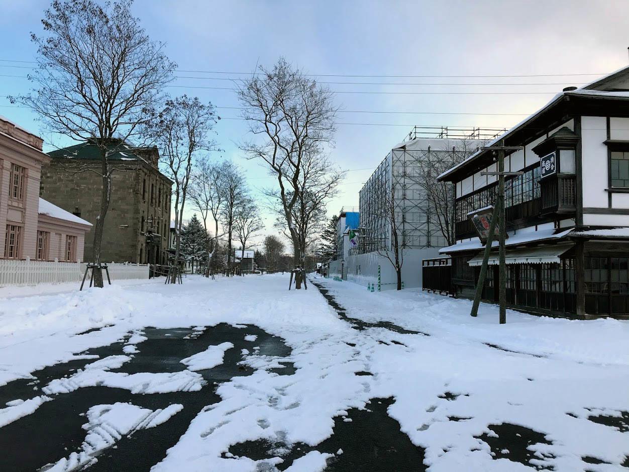 北海道開拓の村の雪景色_c0189970_17095949.jpg