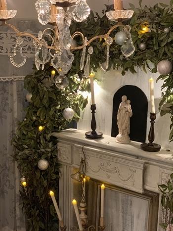 クリスマスで極上のおもてなしを ~hidamari式 アンティークなクリスマス~_e0237680_16423573.jpg