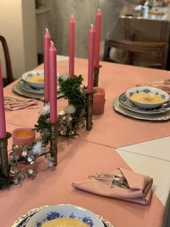 クリスマスで極上のおもてなしを ~hidamari式 アンティークなクリスマス~_e0237680_16423604.jpg