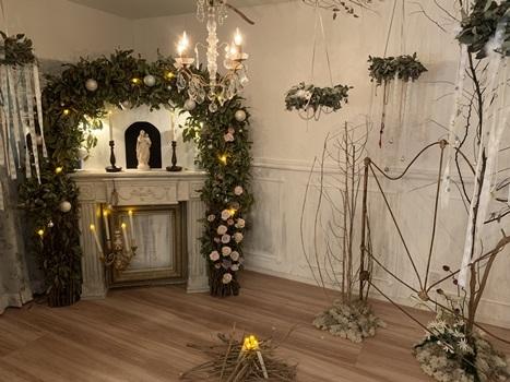 クリスマスで極上のおもてなしを ~hidamari式 アンティークなクリスマス~_e0237680_16560023.jpg
