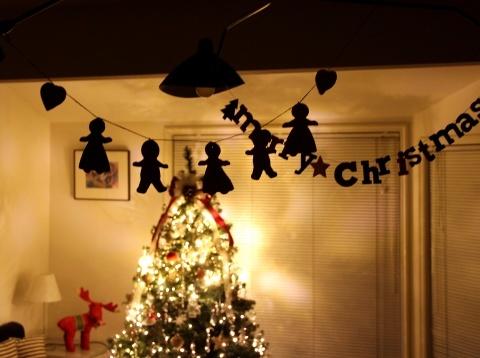 """◆Christmas! Christmas★""""・・・ツリーを飾りました_e0154682_15571721.jpg"""