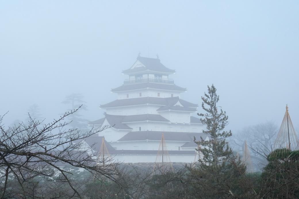 霧の会津鶴ヶ城 2019・12・01_e0143883_05035307.jpg