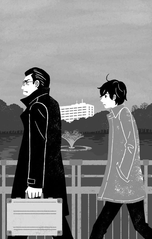 ☆お仕事☆小説挿画 小説宝石2019年11月号_c0007402_17264506.jpg