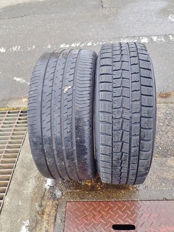 タイヤ交換は最後の一台でした!_c0336902_19115694.jpg