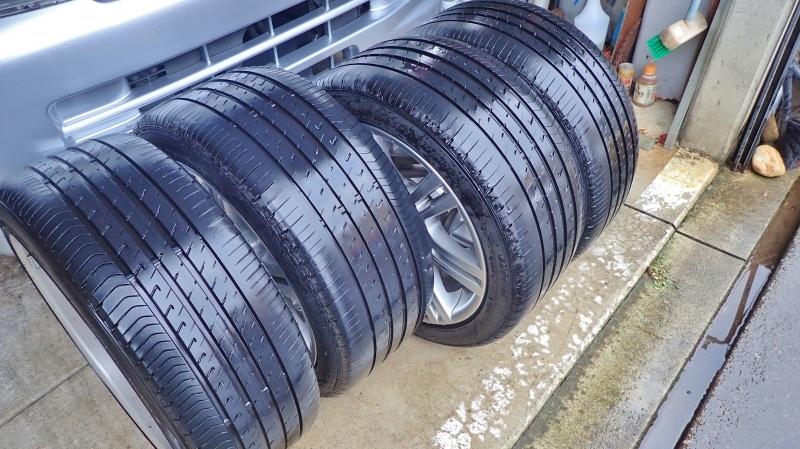 タイヤ交換は最後の一台でした!_c0336902_19132176.jpg