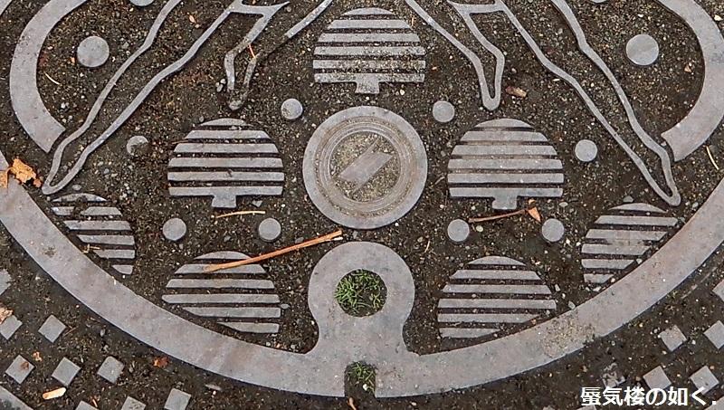 マンホールカード22枚目ゲット北広島市エルフィンパーク市民サービスコーナーで、北広島駅周辺のマンホール蓋も_e0304702_07471655.jpg