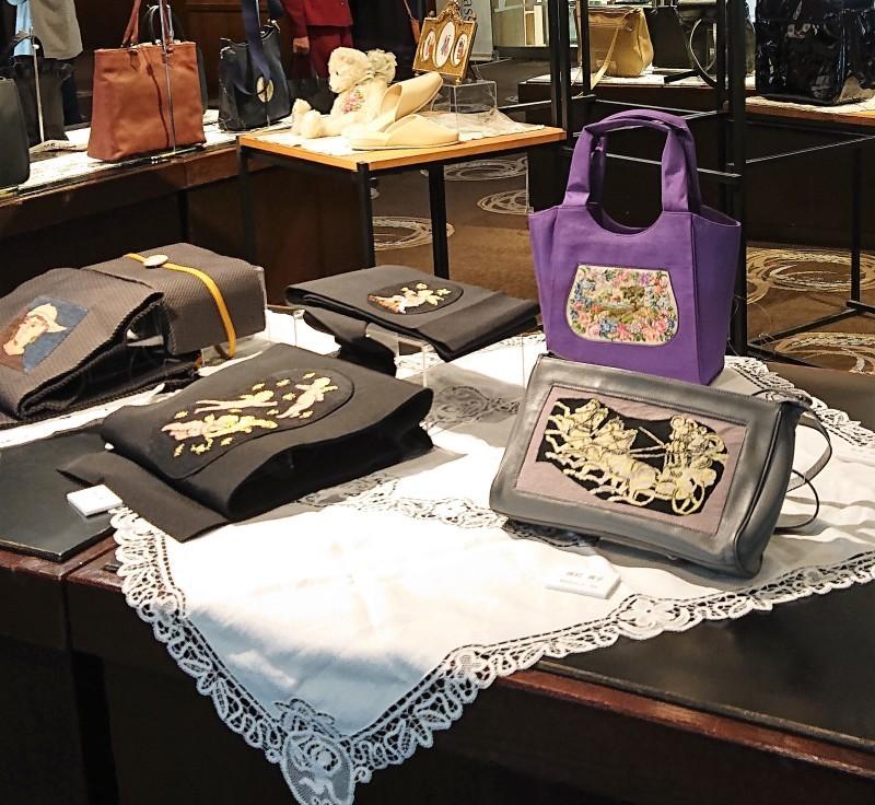 久家道子プチポアン刺繍協会作品展 at 京王プラザホテルロビーギャラリー_f0361510_15473867.jpg