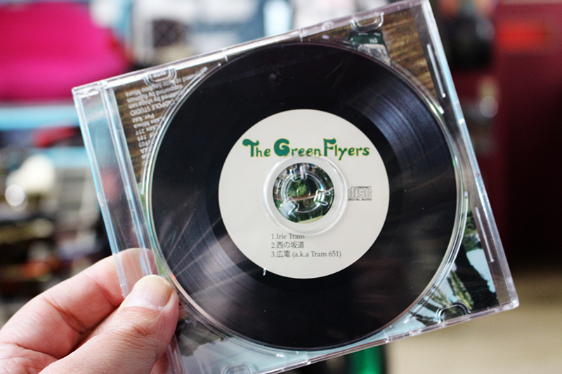 The green flyers  音楽っていいね 繋がり。_a0139912_12435566.jpg