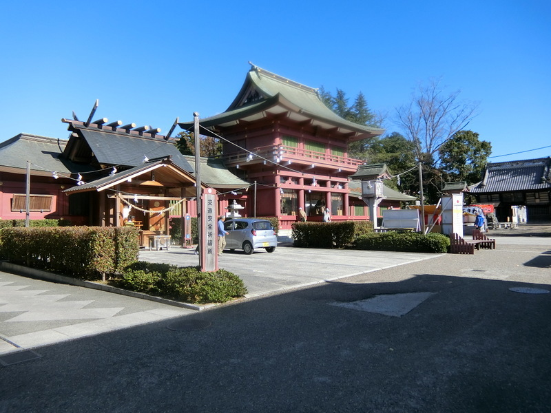 12月3日(火)息子夫婦と笠間稲荷へ_d0278912_16004178.jpg