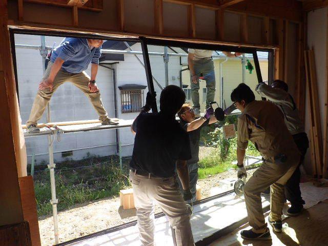 仙北町の家 大工工事が進行中です!_f0105112_05024827.jpg