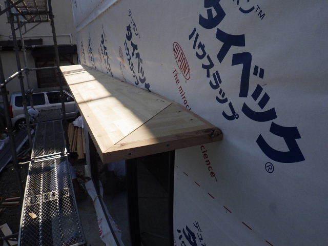 仙北町の家 大工工事が進行中です!_f0105112_05085657.jpg