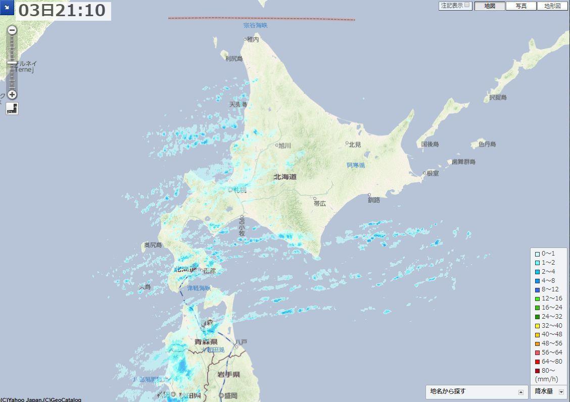 積雪をリセットして新たな降雪_c0025115_21360024.jpg