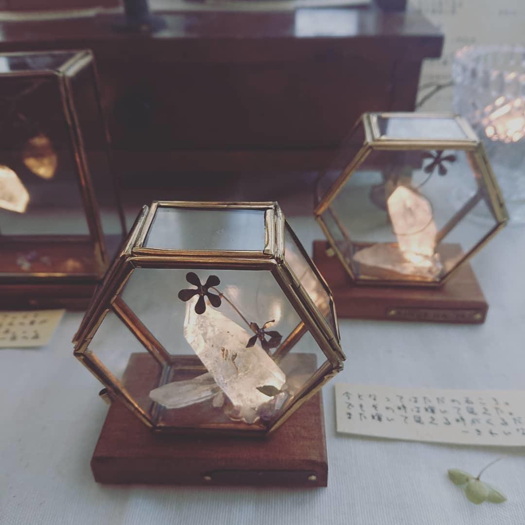 ふじわら工房さんの『 キオクノハコ 』展 始まりました。_e0189225_13025083.jpg