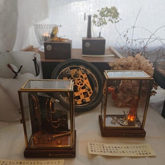 ふじわら工房さんの『 キオクノハコ 』展 始まりました。_e0189225_13084578.jpg