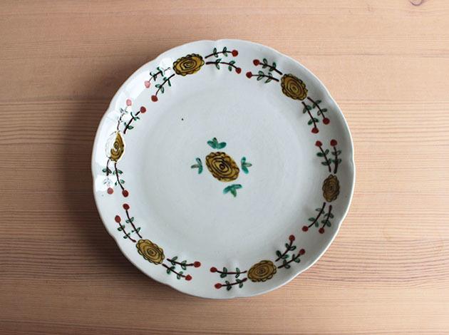 重田良古さんの新作のお皿が入荷しました。_a0026127_17153207.jpg