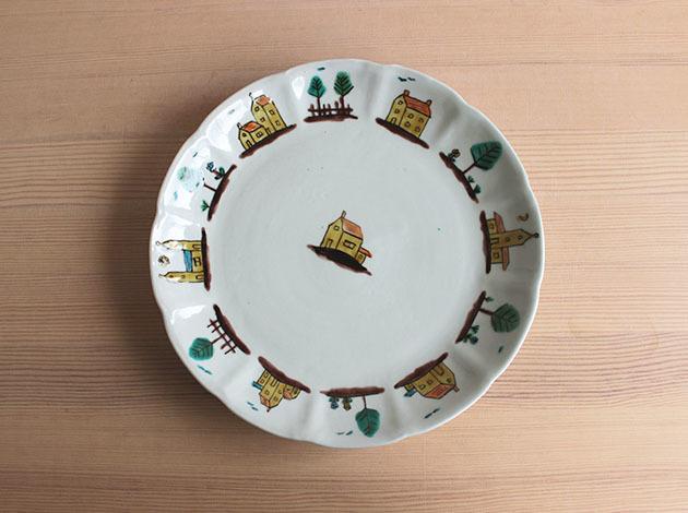 重田良古さんの新作のお皿が入荷しました。_a0026127_17153462.jpg