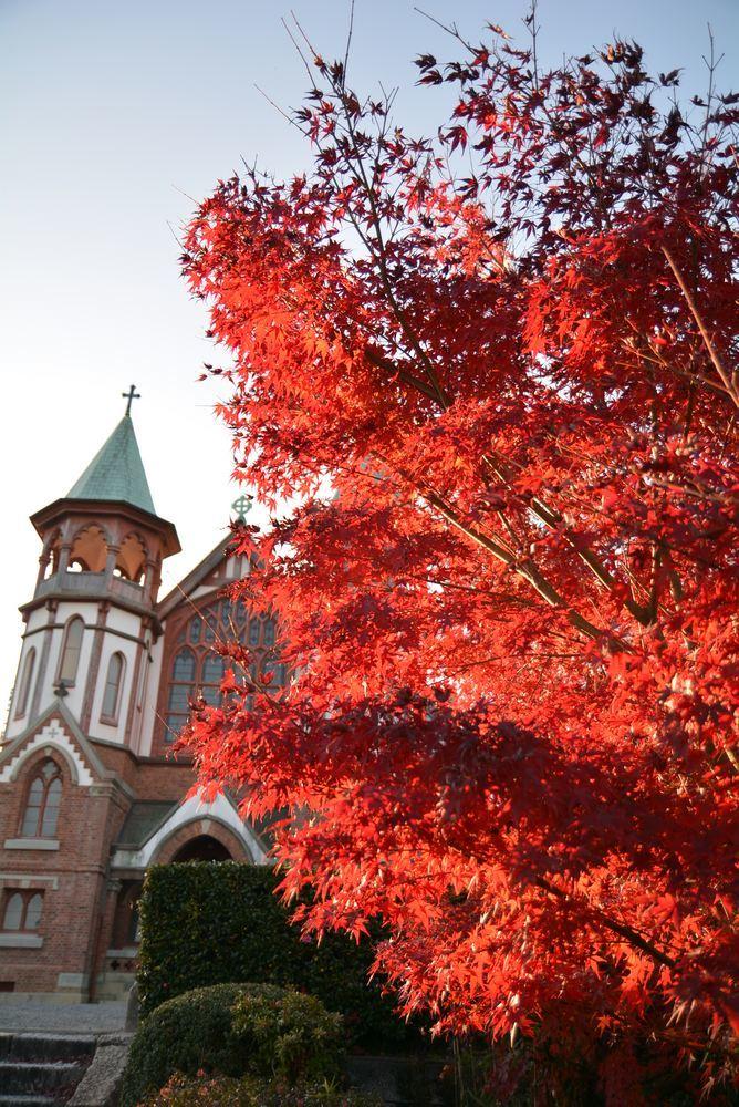 聖ヨハネ教会堂と紅葉_e0373930_20300260.jpg