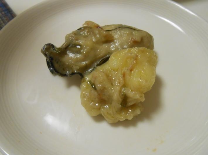 牡蠣のピルピルと朝日町ワイナリーのシャルドネ。レシピ付_a0095931_22294490.jpg