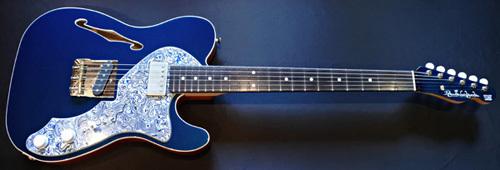「Phantom Blue MetallicのHollow T-Line」1本目が完成!_e0053731_16104644.jpg