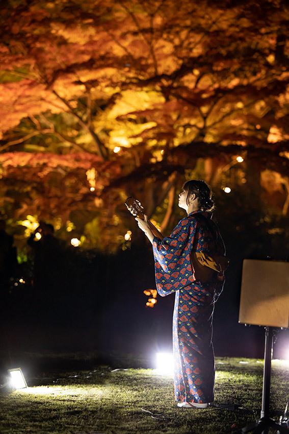 東山動植物園 紅葉ライトアップ2019~演奏編~_f0373339_10542477.jpg