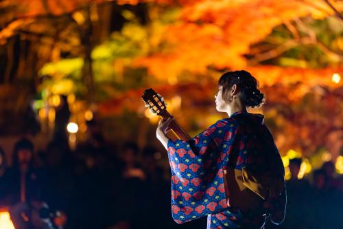 東山動植物園 紅葉ライトアップ2019~演奏編~_f0373339_11045024.jpg
