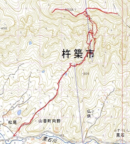 国東の山・・津波戸山へ_e0164643_16111650.jpg