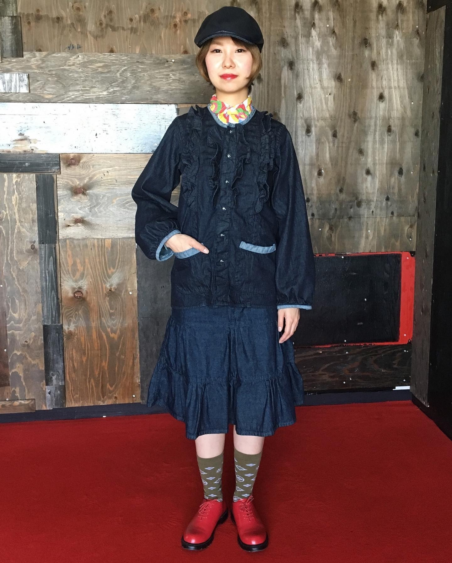 EVISU WOMAN AIKO.M  最近の作品_a0154045_05391053.jpeg