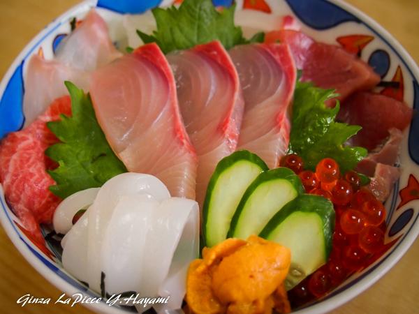 料理の風景 海鮮丼_b0133053_03024527.jpg
