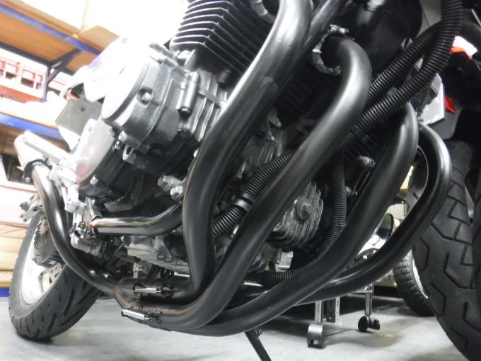 CBX400Fのマフラー製作とキャブ修理・・・その2_a0163159_22265720.jpg